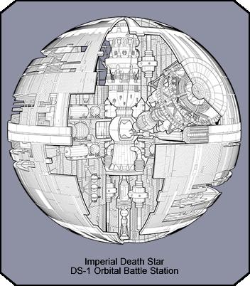Haynes Imperial Death Star Manual - Death star blueprints