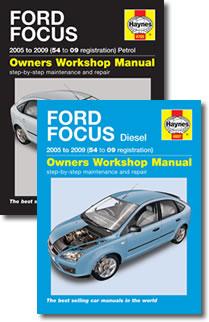 haynes press release rh haynes com 2005 Ford Owner's Manual 2005 Ford Focus Manual Transmission