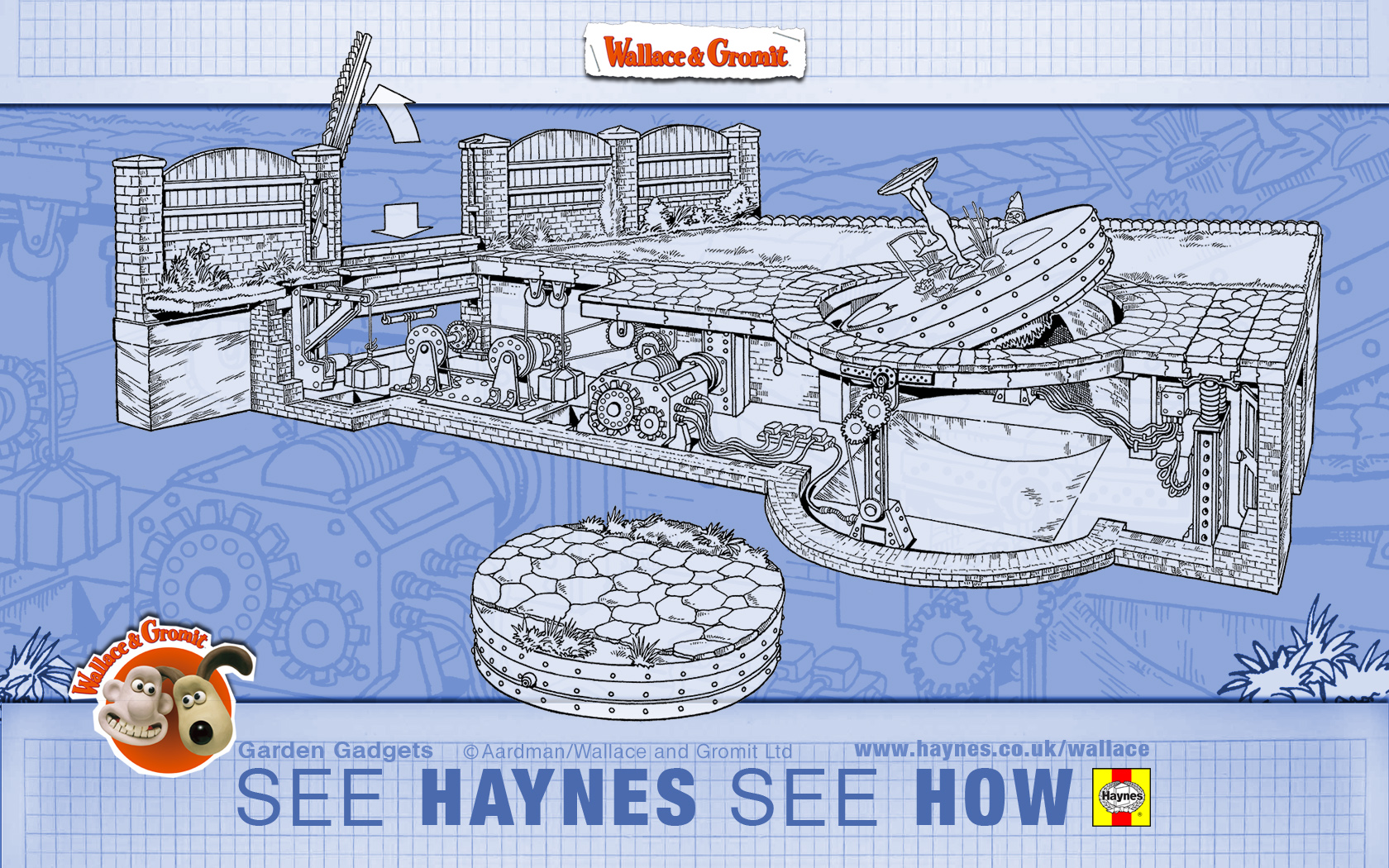 Haynes Desktop Wallpapers Wallace Gromits Cracking